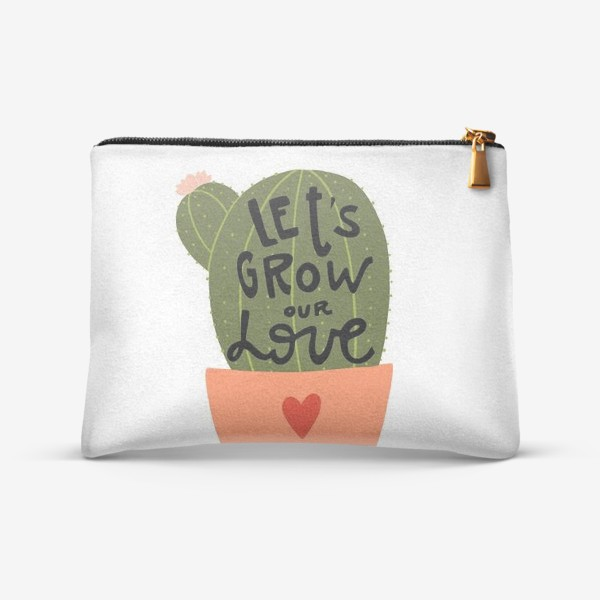Косметичка «lets grow our love»