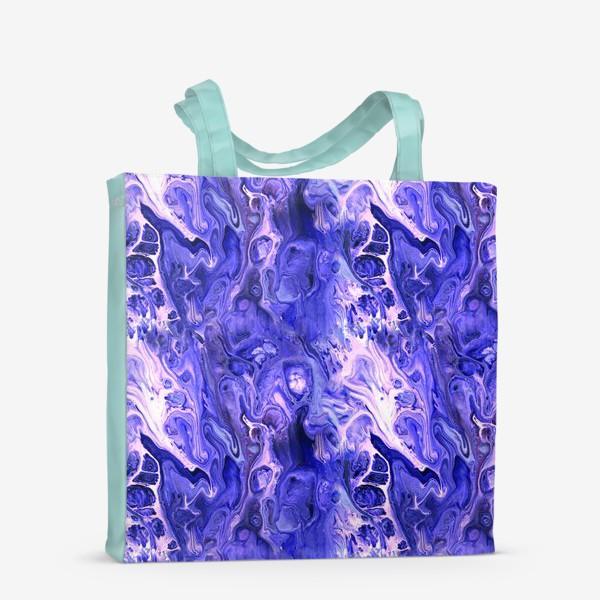 Сумка-шоппер «Абстракция жидкий акрил 9»