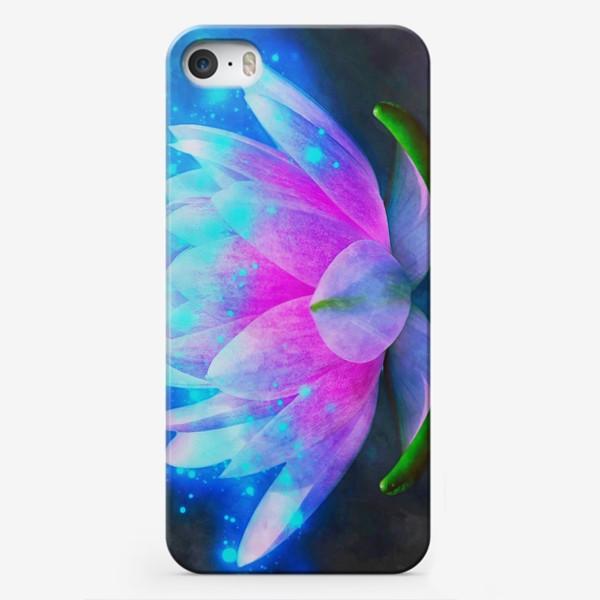 Чехол iPhone «Мистический цветок лотоса»