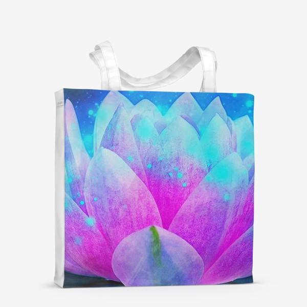 Сумка-шоппер «Мистический цветок лотоса»
