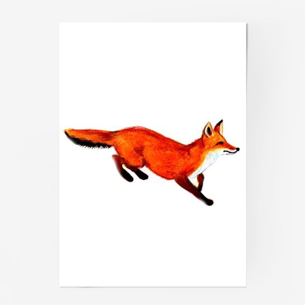Постер «Лисичка»