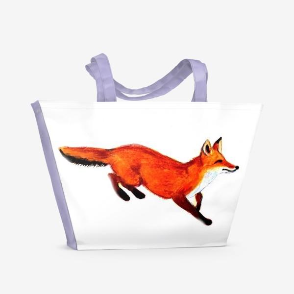 Пляжная сумка «Лисичка»