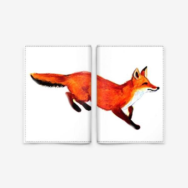 Обложка для паспорта «Лисичка»
