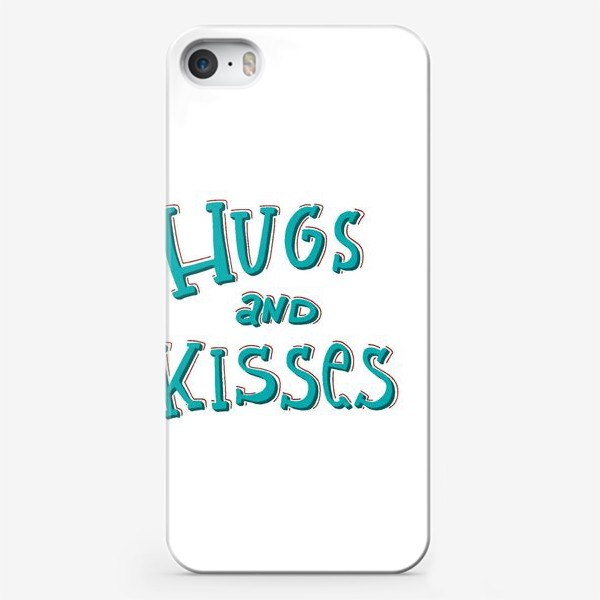 Чехол iPhone «Hugs and kisses»