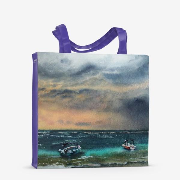 Сумка-шоппер «Море»