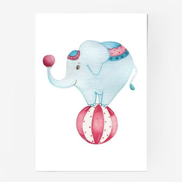 Постер «Цирковой слон»