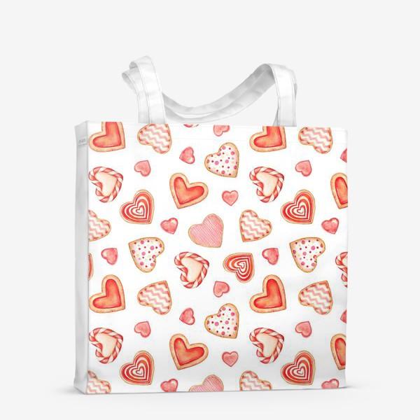 Сумка-шоппер «Sweet hearts»