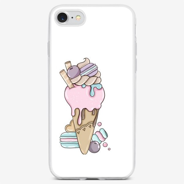Чехол iPhone «Ice Cream»