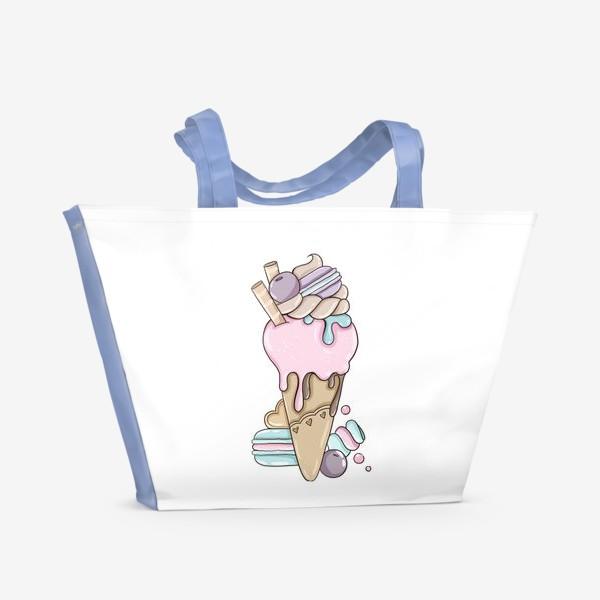 Пляжная сумка «Ice Cream»