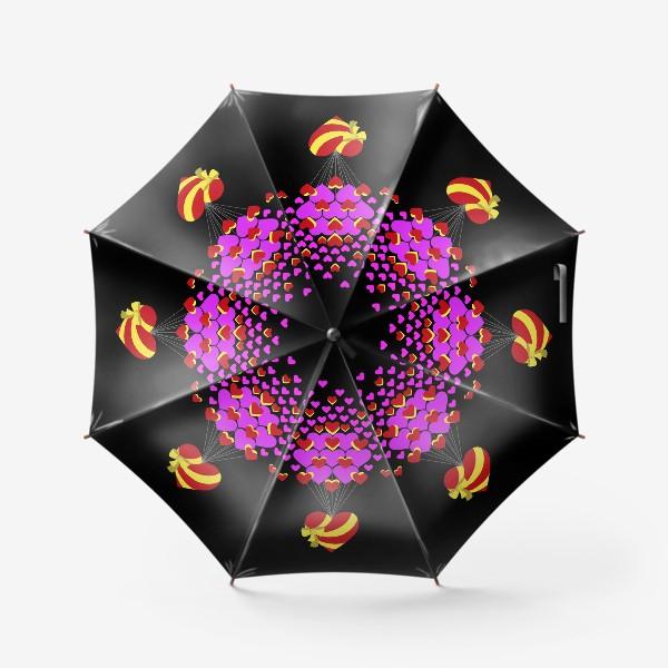 Зонт «Цветущее сердце»