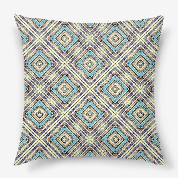 Подушка «Геометрическая абстракция»