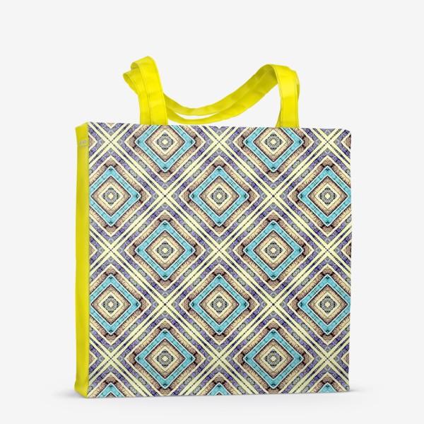 Сумка-шоппер «Геометрическая абстракция»