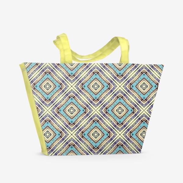 Пляжная сумка «Геометрическая абстракция»