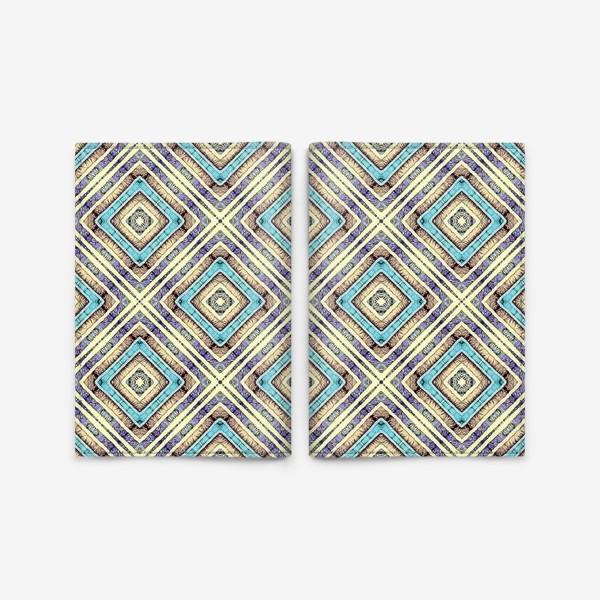 Обложка для паспорта «Геометрическая абстракция»