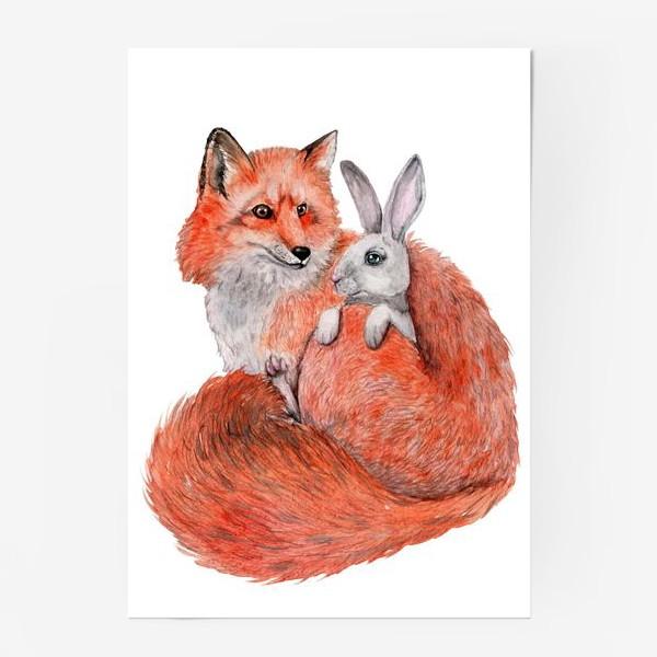 Постер «Лиса и Заяц»
