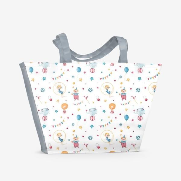 Пляжная сумка «Веселый цирк»