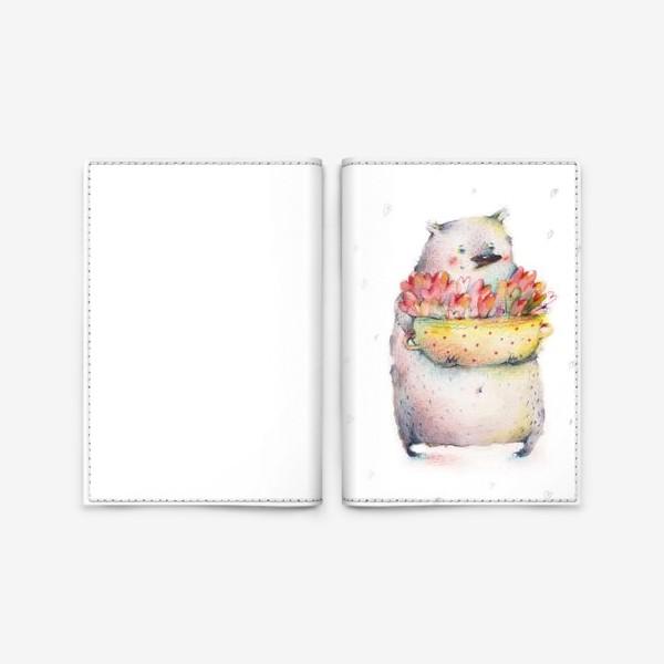 Обложка для паспорта «Кастрюля, полная любви»