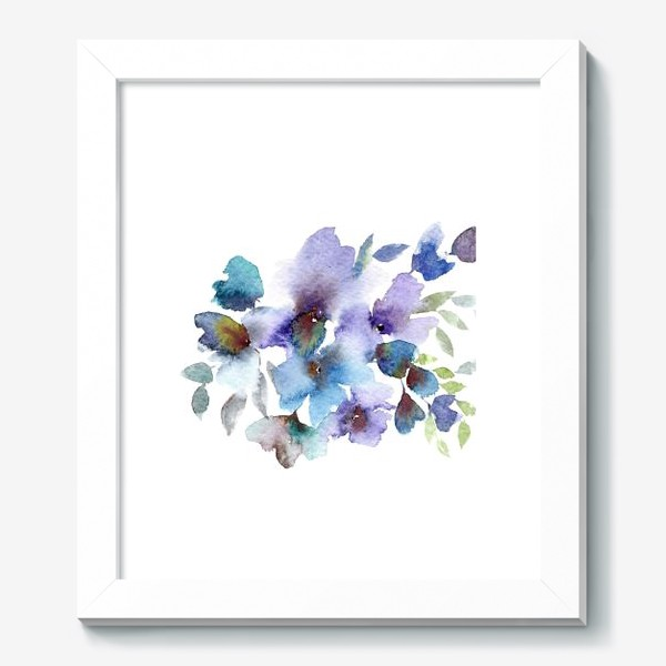 Картина «Blue flowers»