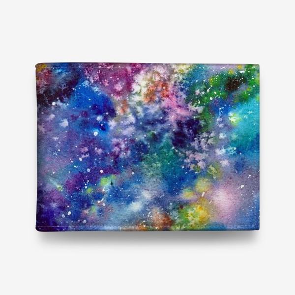 Кошелек «Космический фон. Вселенная.»