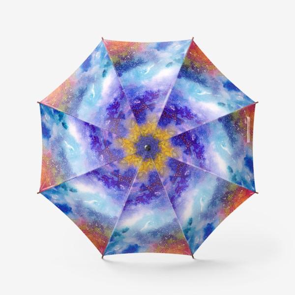 Зонт «Космический фон. Вселенная.»