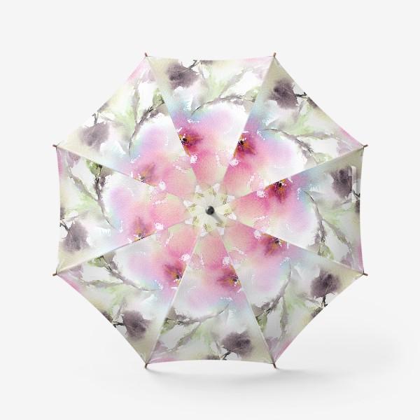 Зонт «Розовые цветы»