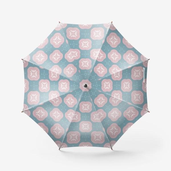 Зонт «Скандинавские мотивы. Бесшовный паттерн»