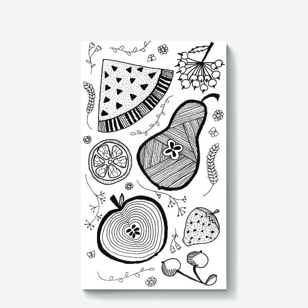 Холст «фруктовый салат»