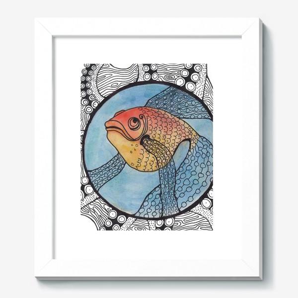 Картина «золотая рыбка»