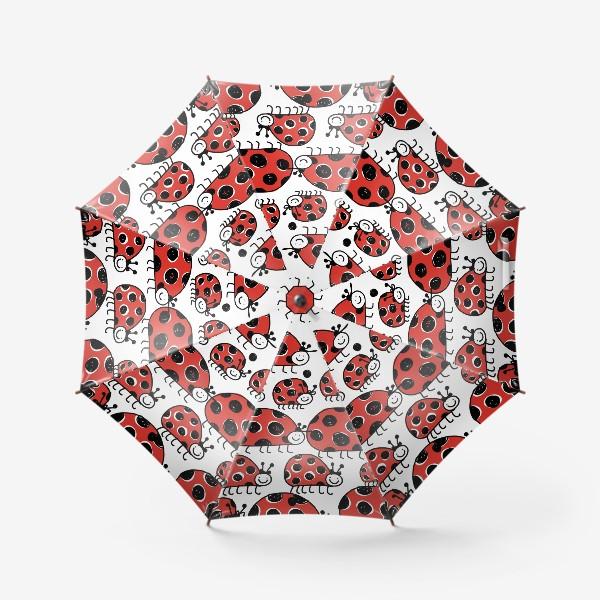 Зонт «Божьи коровки.»
