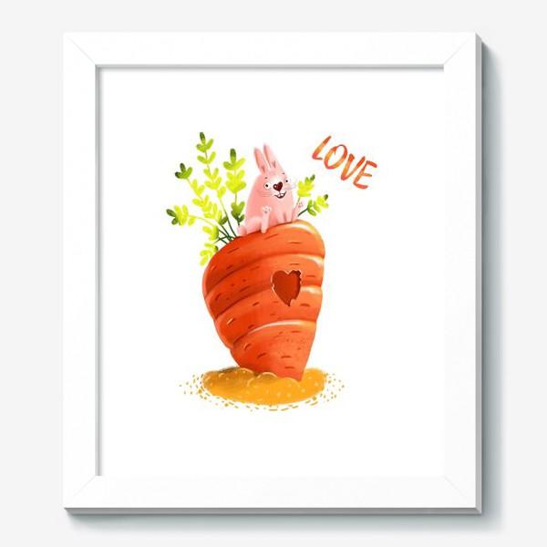 Картина «Любовь- морковь»