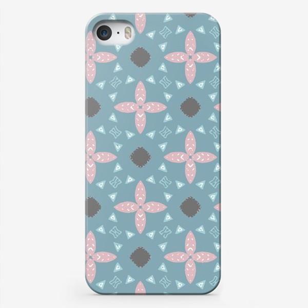 Чехол iPhone «Скандинавские мотивы. Бесшовный паттерн»