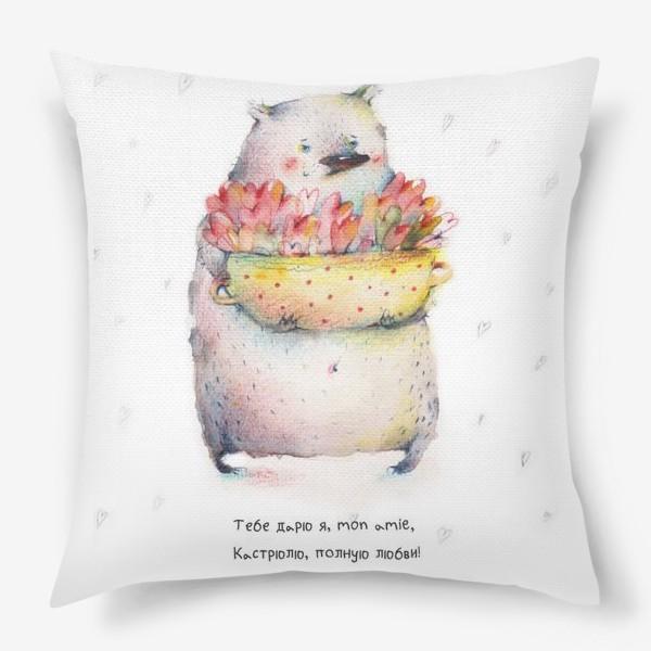Подушка «Сердечная кастрюля»