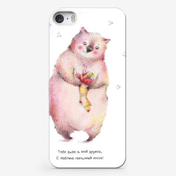 Чехол iPhone «Сердечные носки»
