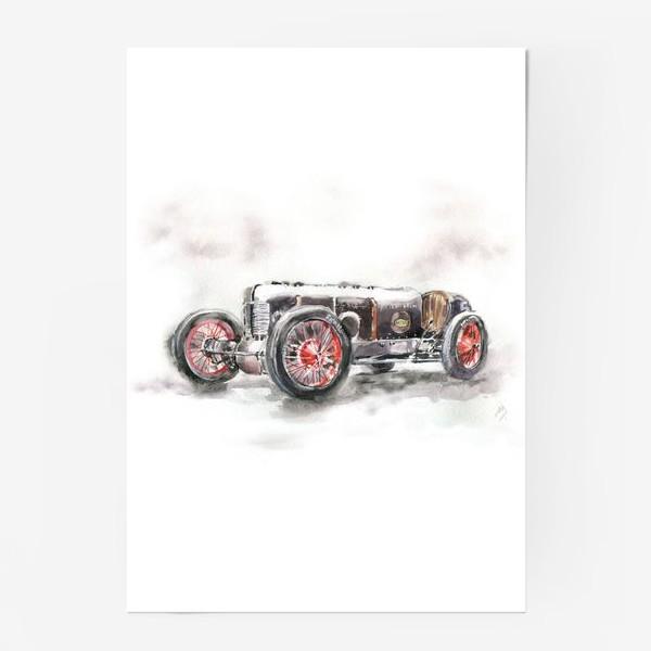 Постер «Автомобиль»