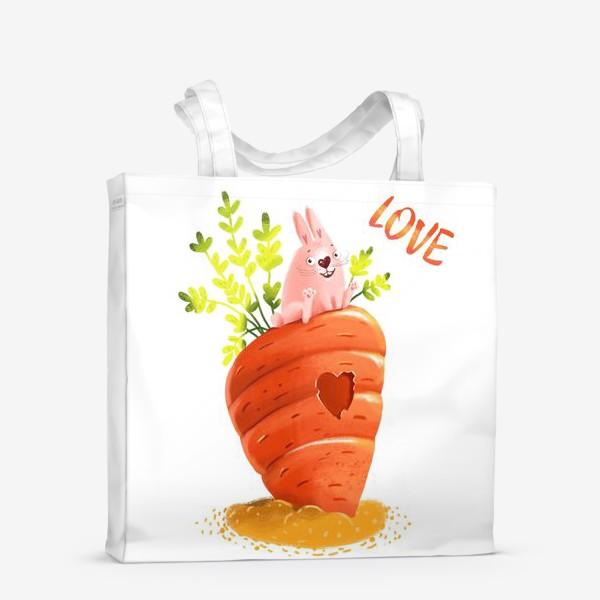Сумка-шоппер «Любовь- морковь»
