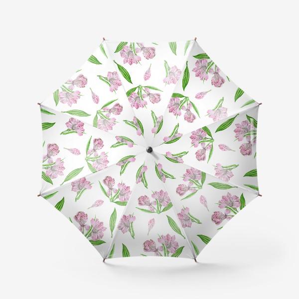 Зонт «Alstroemeria pattern»