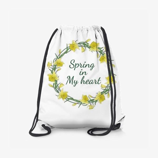 Рюкзак «Весенние нарциссы»