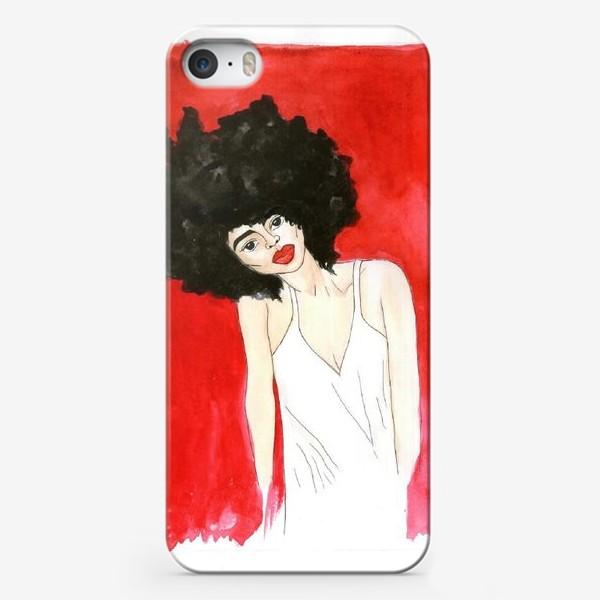 Чехол iPhone «девушка »