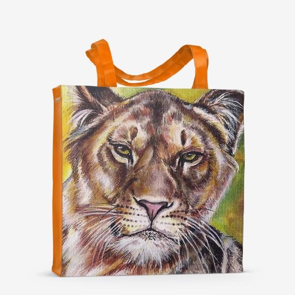 Сумка-шоппер «Лев»