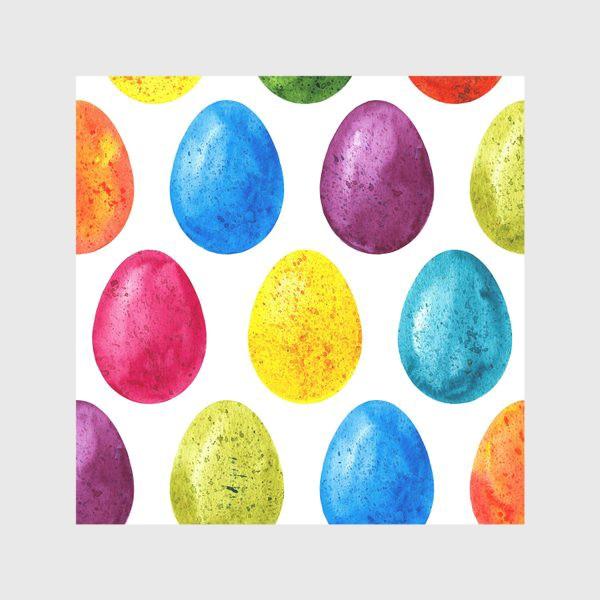 Скатерть «Акварельные пасхальные яйца»