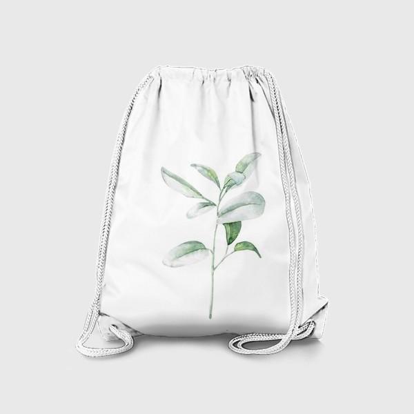 Рюкзак «Акварельная веточка»