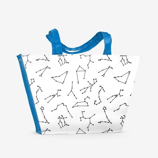 Пляжная сумка «Созвездия зодиакальные 2»