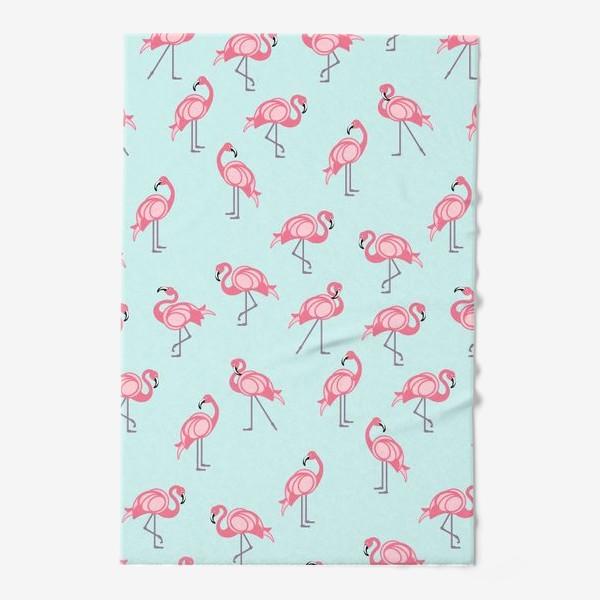 Полотенце «Танец фламинго»