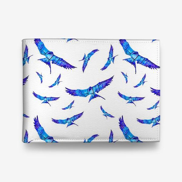 Кошелек «Синие птицы»