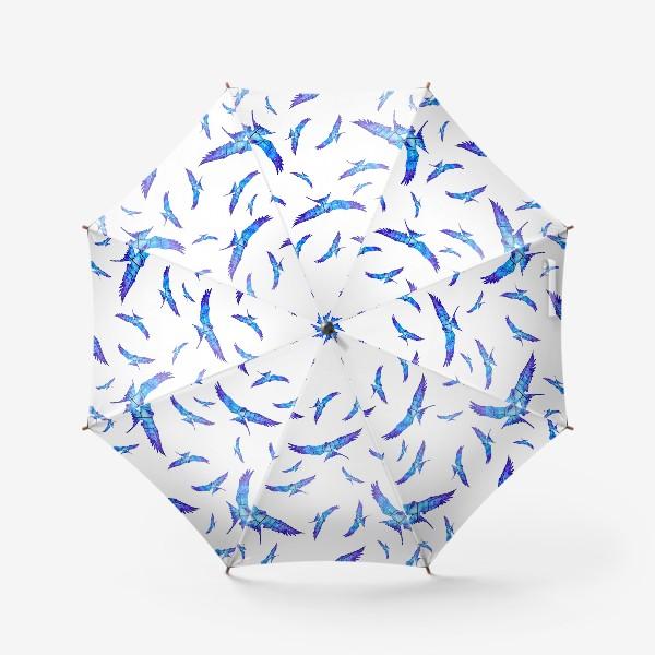 Зонт «Синие птицы»