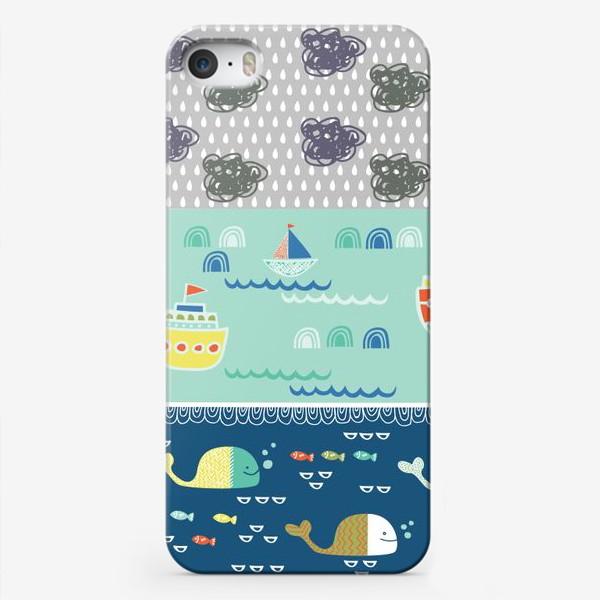 Чехол iPhone «морской пейзаж»