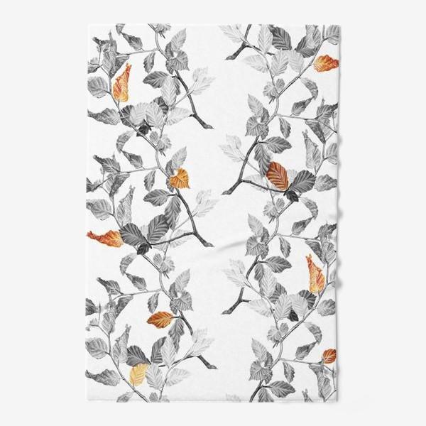 Полотенце «Осенние листья винтаж»