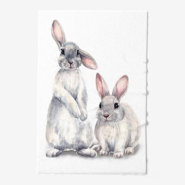 Полотенце «Кролики»