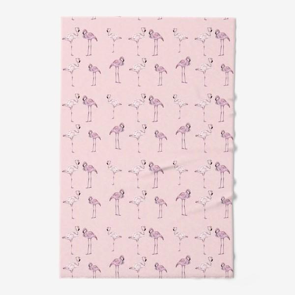 Полотенце «Pink flamingo»