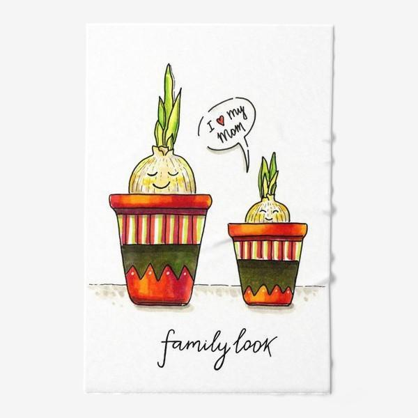 Полотенце «FAMILY LOOK. RED»